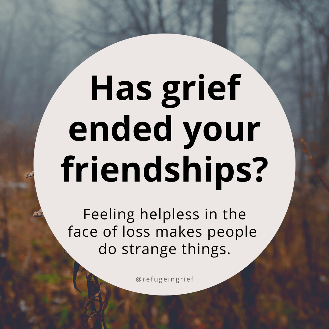 Mourning the end of a relationship